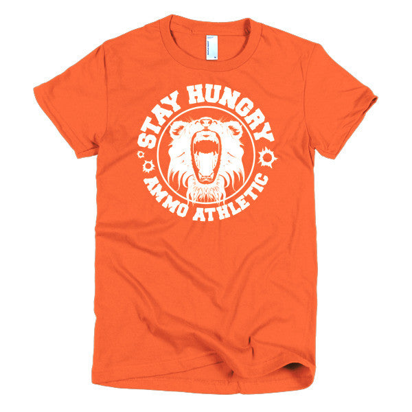 Women's Stay Hungry Roar T-Shirt - AMMO Athletic - 8