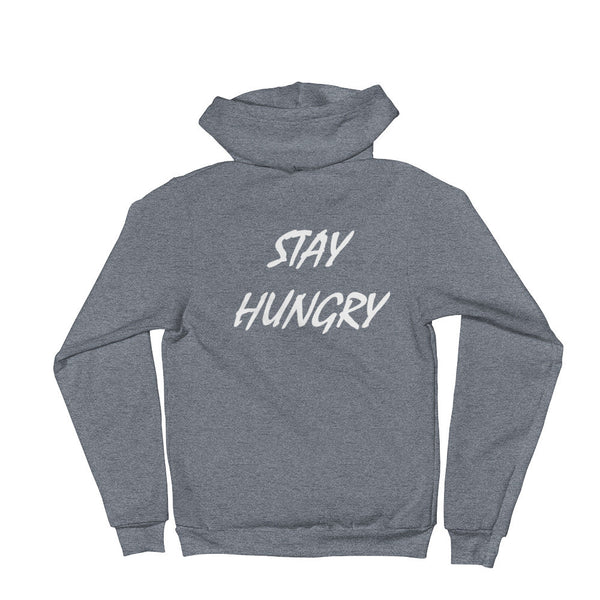 Unisex 5-Star Stay Hungry Zip Hoodie - AMMO Athletic - 4
