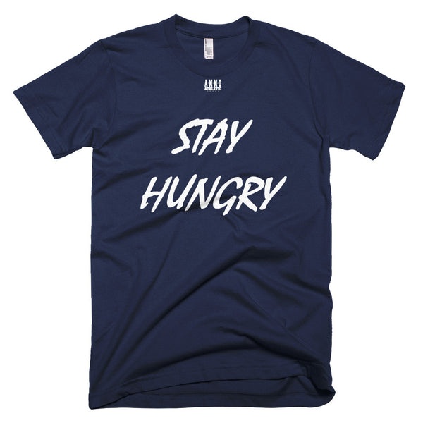 Men's Stay Hungry Lettered T-Shirt - AMMO Athletic - 5