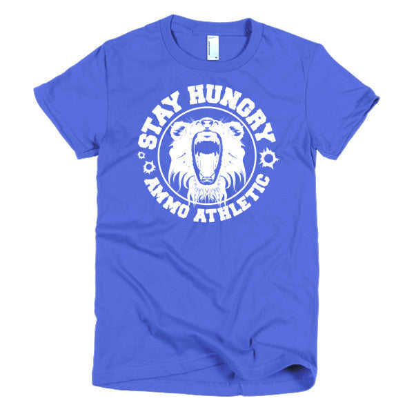 Women's Stay Hungry Roar T-Shirt - AMMO Athletic - 1