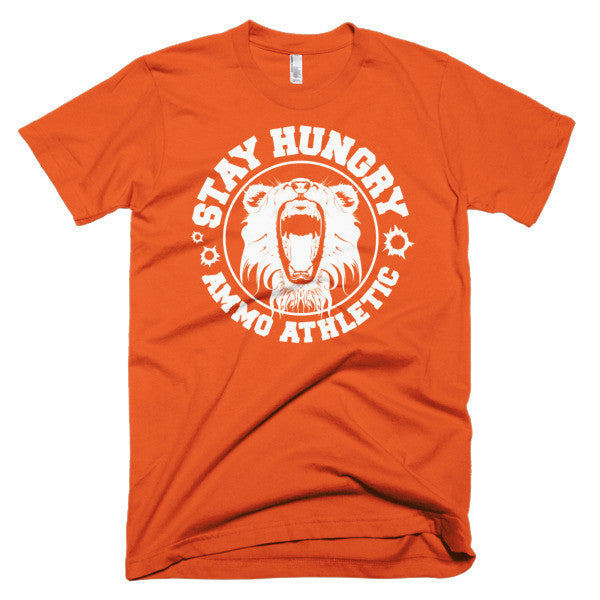 Men's Stay Hungry Roar T-Shirt - AMMO Athletic - 8
