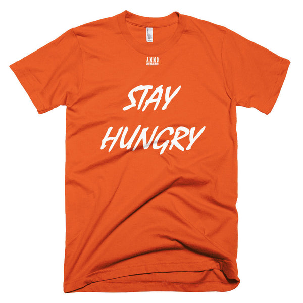 Men's Stay Hungry Lettered T-Shirt - AMMO Athletic - 9