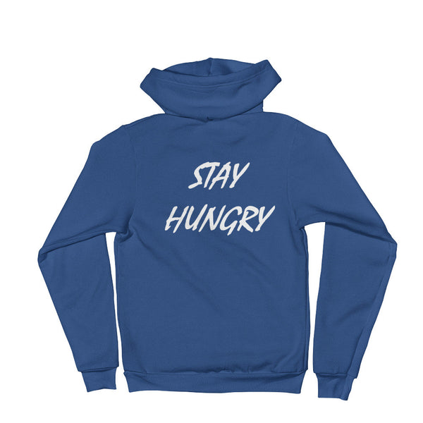 Unisex 5-Star Stay Hungry Zip Hoodie - AMMO Athletic - 6