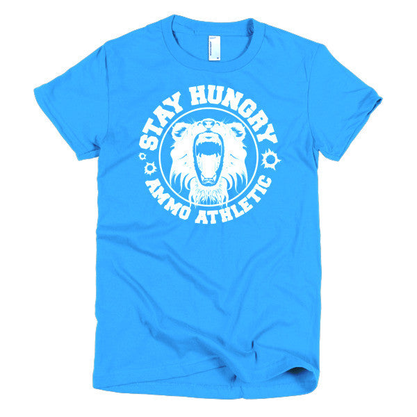 Women's Stay Hungry Roar T-Shirt - AMMO Athletic - 2