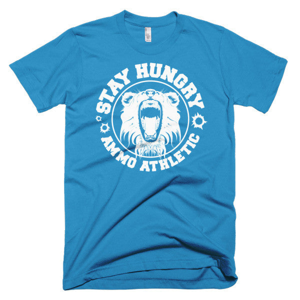 Men's Stay Hungry Roar T-Shirt - AMMO Athletic - 7