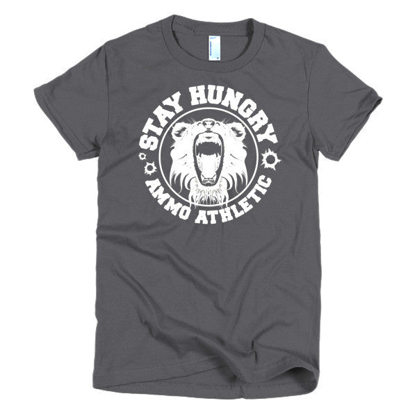 Women's Stay Hungry Roar T-Shirt - AMMO Athletic - 4