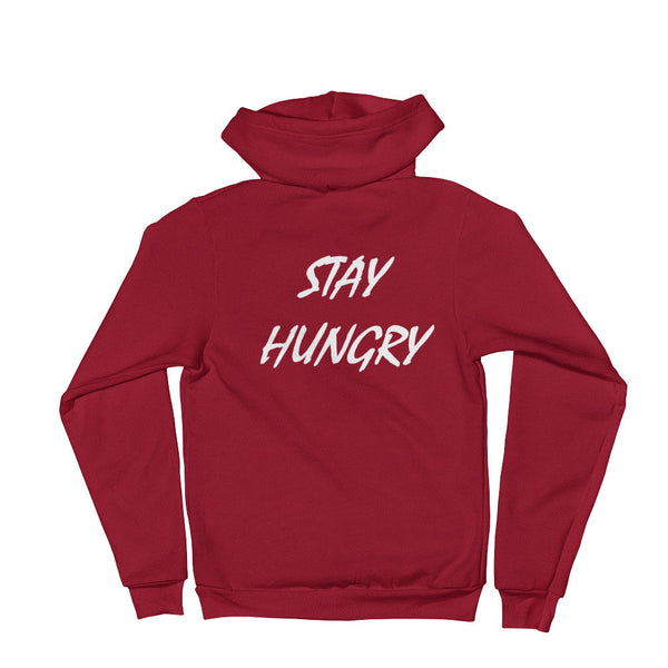 Unisex 5-Star Stay Hungry Zip Hoodie - AMMO Athletic - 8