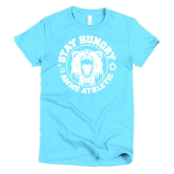 Women's Stay Hungry Roar T-Shirt - AMMO Athletic - 7