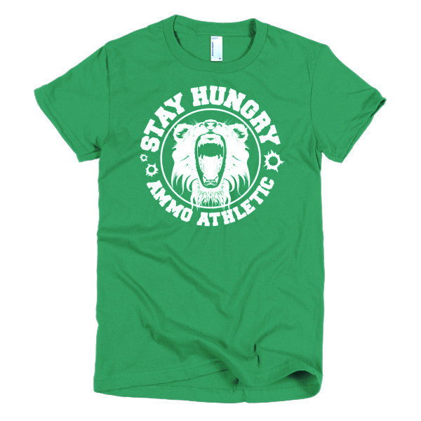 Women's Stay Hungry Roar T-Shirt - AMMO Athletic - 6