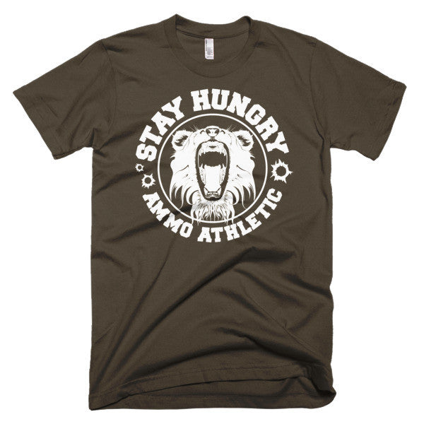 Men's Stay Hungry Roar T-Shirt - AMMO Athletic - 3