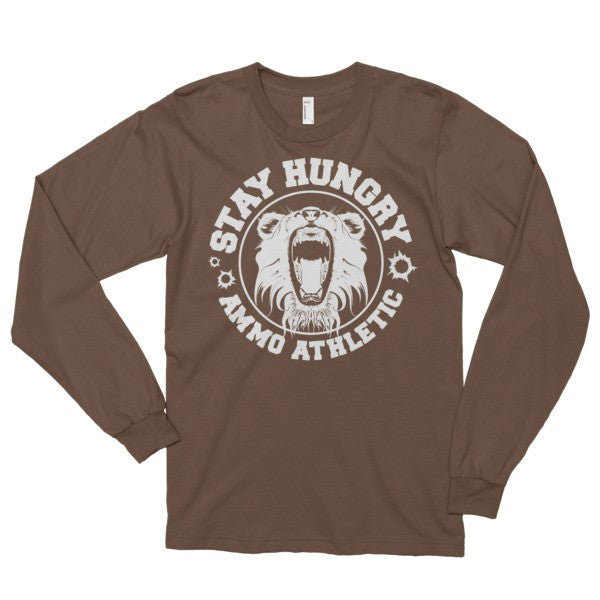 Unisex Long-Sleeve Stay Hungry T-Shirt - AMMO Athletic - 4