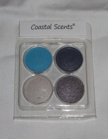 Coastal Scents Eyeshadow Quad