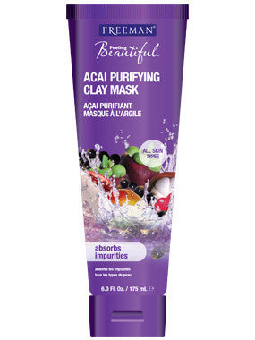 Freemans Acai Facial Purifying Clay Mask (150ml)