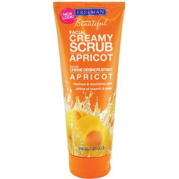 Freemans Apricot Creamy Facial Scrub (150ml)
