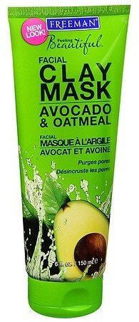 Freemans Avocado and Oatmeal Facial Clay Mask (150 ml)