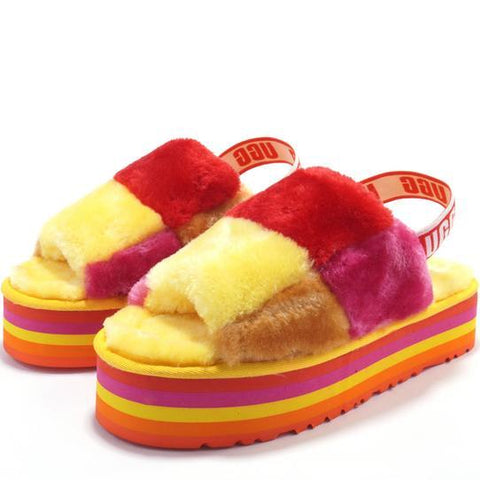 UGG Women Men Fashion Slipper Shoes