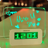 Can Graffiti USB Valentine birthday gift Clock