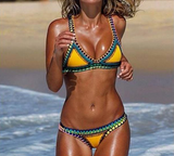Beach Retro Fashion Bikini Set Swimsuit Swimwear