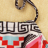Fashion Shoulder strap print bikini