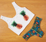Pineapple pattern Swimwear Swimsuit Bikini