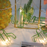 3M 20LED Cactus Lron Lamp Light Party Bedroom Decor Light