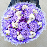 Personalized birthday gift soap flower bouquet
