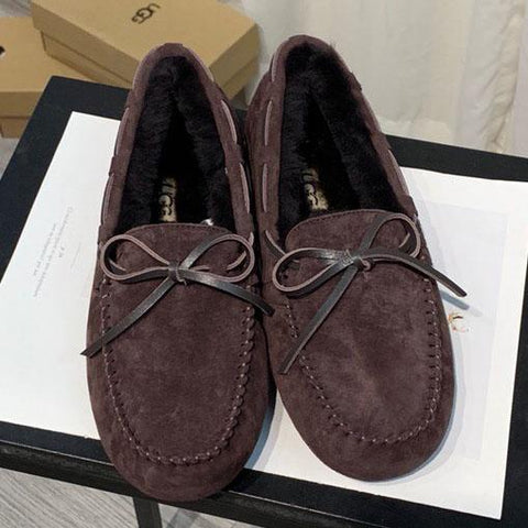 UGG Women Men Fashion Casual Moccasin-Gommino In Leather Driving Shoes