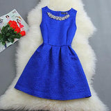 Retro Fashion Sleeveless A-Line Dress-67
