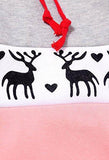 Fashion Christmas Deer Pullover Sweatshirt Hoodie Top Sweater