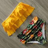 Bikinis Women Swimsuit High Waist Bathing Suit Swimwear Push Up Bikini Set Vintage Beach Wear Biquini