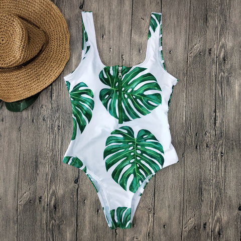 Striped Swimwear One Piece Swimsuit Women Backless Swimsuit Sport Bodysuit Beach Bathing Suit Swim