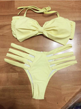 Fashion Bowknot Bikini Swimwear