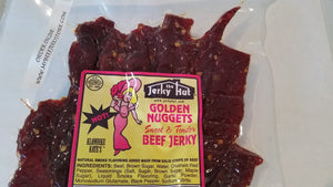 Jerky Hut | Sweet/Hot (Sweet and Tender) - (8 oz) - The Jerky Hut online