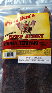 Papa Dan's | Honey Teriyaki - (Flat Cut) -- (8 oz) - The Jerky Hut online