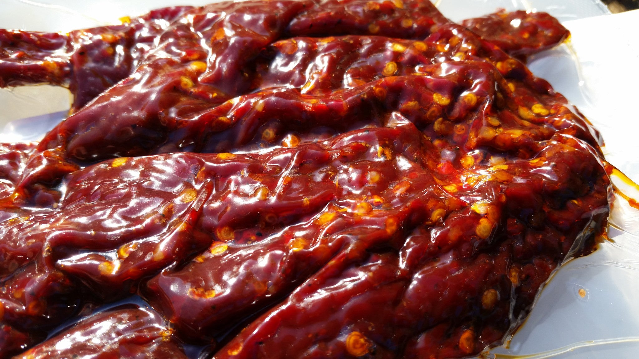 Ghost Pepper 3x (Chernobyl), The Jerky Hut -- (8oz.) - The Jerky Hut online