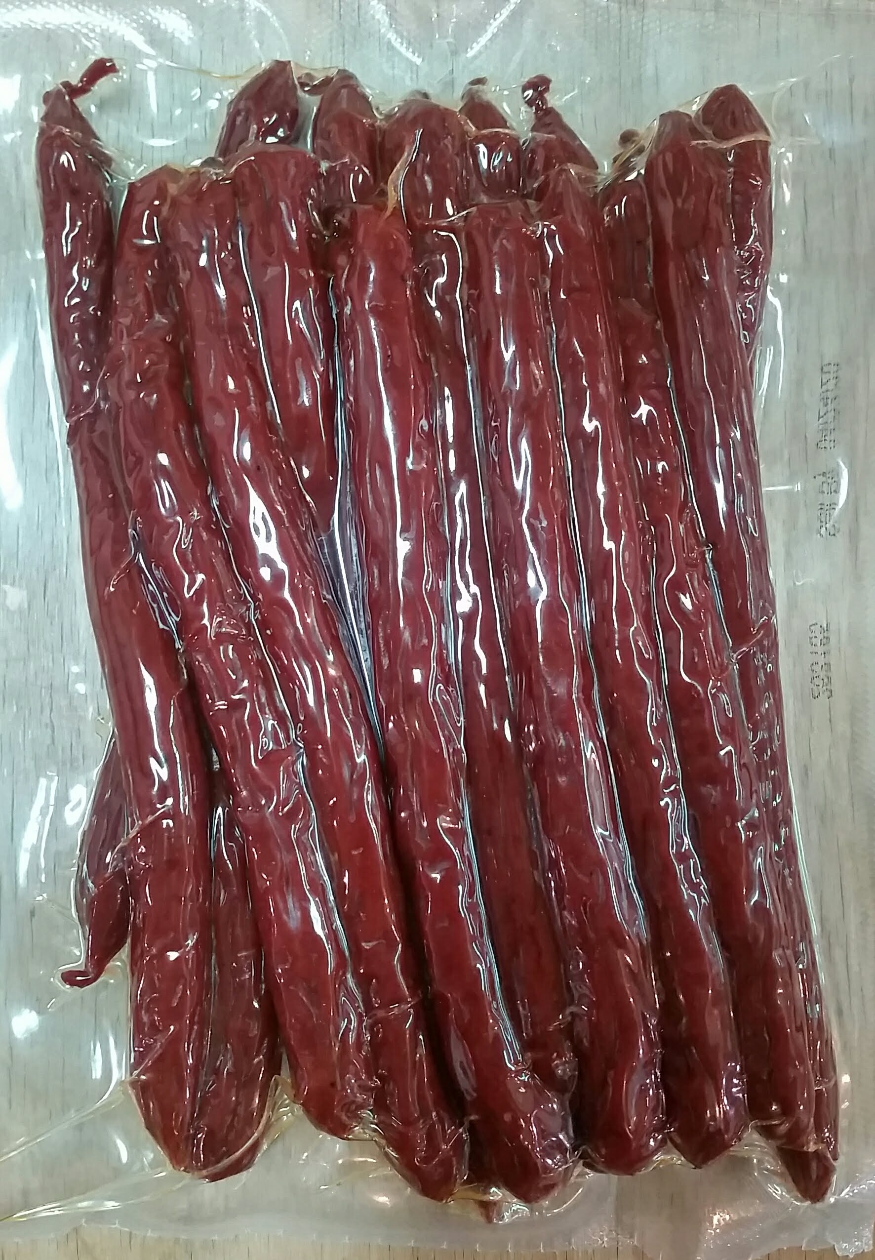 Jerky Hut - Habanero w/ Hot pepper - Beef Sticks (1 LB.) - The Jerky Hut online