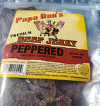 Papa Dan's Cowboy Peppered (Thin-cut) -- 8oz - The Jerky Hut online