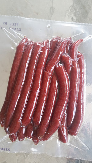 Jerky Hut, Teriyaki - Beef Sticks, (1 LB.) - The Jerky Hut online