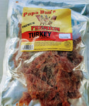 Papa Dan's | Turkey jerky (8 oz) (Flat cut) - The Jerky Hut online