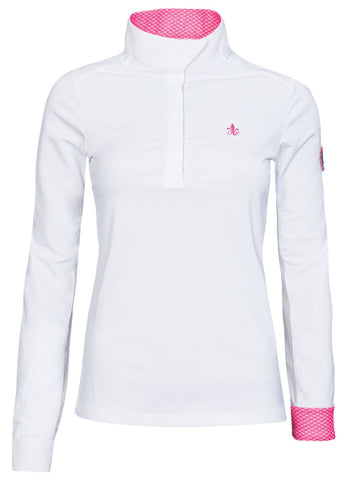Fior Da Liso Olivia Show Shirt - White (UV Protection) - 20x60