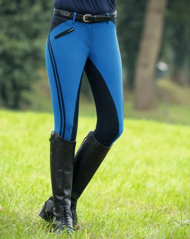 HKM Global Team Sporty Breeches with Full Seat - Kids - 20x60  - 1