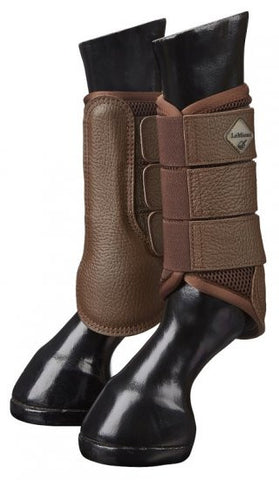 LeMieux Mesh Brushing Boot - Brown - 20x60  - 1