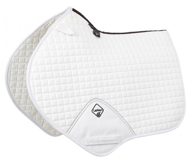 LeMieux ProSport Cotton Close Contact Square - White - 20x60