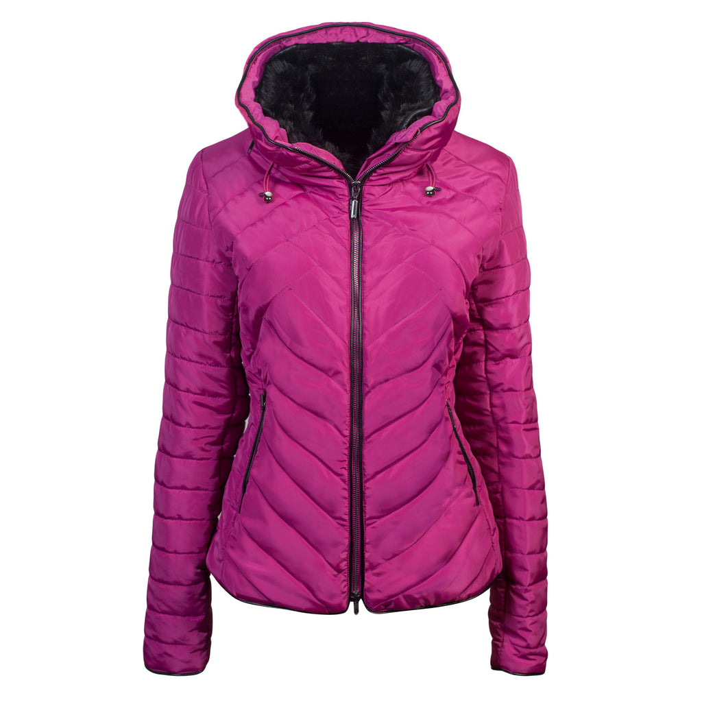 Schockemoehle Sports Ladies Quilted Jacket Cherry - 20x60