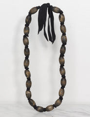Wooden Necklace - Black