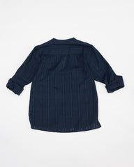 Carol Top - Navy Key