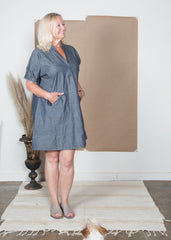 Cindy Dress - Denim