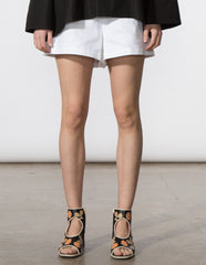Bethany Short - White Denim