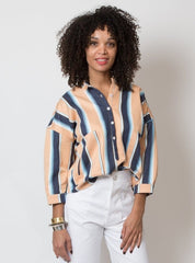Isabel Top- Serape Stripe