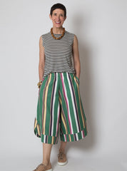 Sandy Pant - Green Stripe